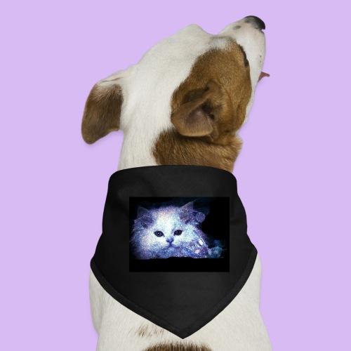 Gatto bianco glitter - Bandana per cani