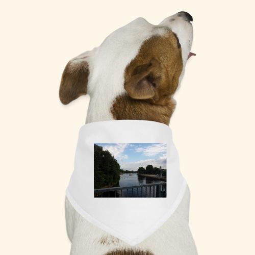 Lanschaftsmotiv mit Wasser - Hunde-Bandana