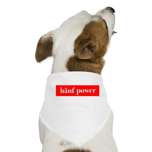 Hanf Power RED - Hunde-Bandana