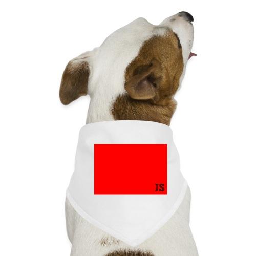 JustSquares Rood - Honden-bandana