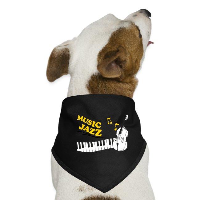 music jazz con piano e contrabbasso