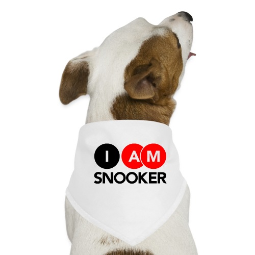 I AM SNOOKER - Dog Bandana