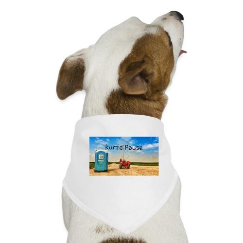 kurze Pause - Hunde-Bandana