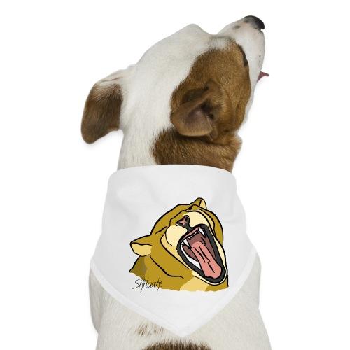 Gähnender / brüllender Löwe - Hunde-Bandana