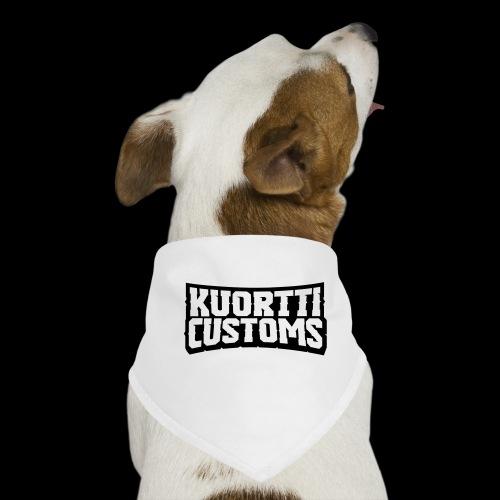 kuortti_customs_logo_main - Koiran bandana