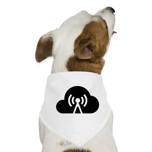 Cloud Cast Wolke schwarz mit Schriftzug - Hunde-Bandana