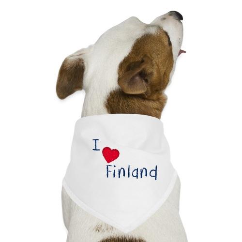 I Love Finland - Koiran bandana