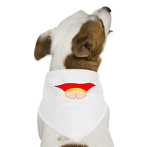 Flying Bum (face on) - no text - Dog Bandana