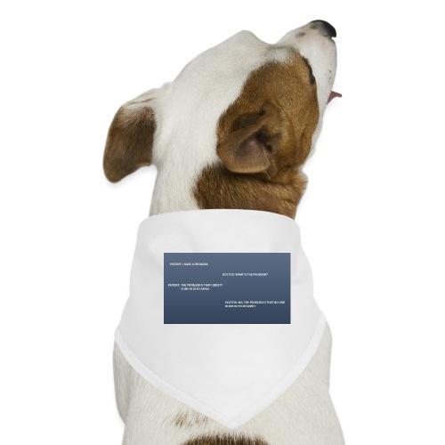 Running joke t-shirt - Dog Bandana