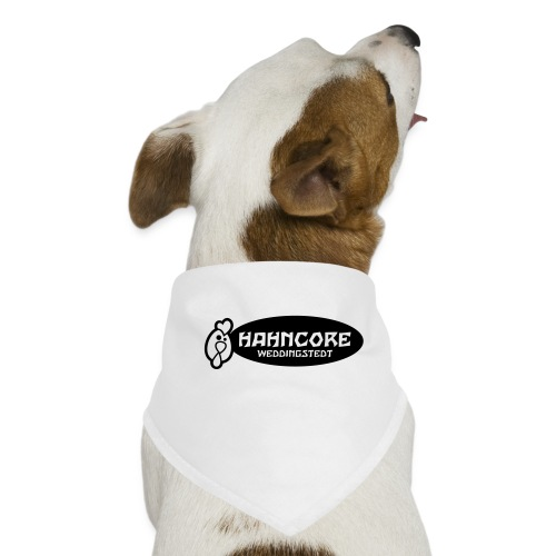 hahncore_sw_nur - Hunde-Bandana