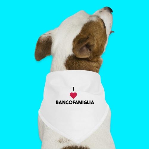 BANCOFAMIGLIA CuoreNera - Bandana per cani