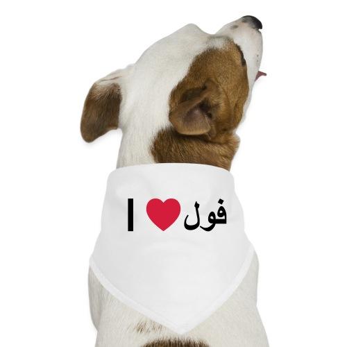 I heart Fool - Dog Bandana