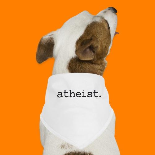atheist BLACK - Dog Bandana