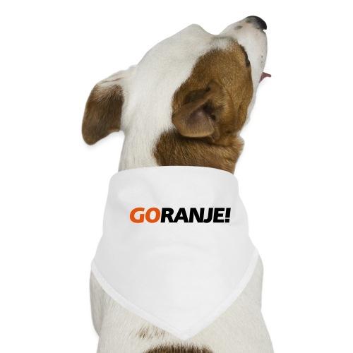 Go Ranje - Goranje - 2 kleuren - Honden-bandana