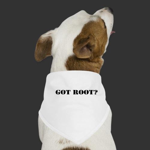 GOT ROOT? - Hundsnusnäsduk