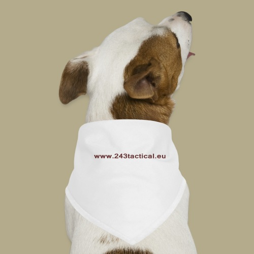 .243 Tactical Website - Honden-bandana