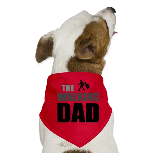 the walking dad auf dem Weg in die lustige Bar - Hunde-Bandana