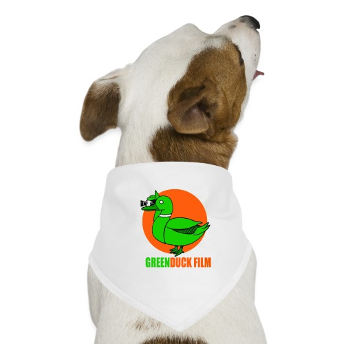 Greenduck Film Orange Sun Logo - Bandana til din hund