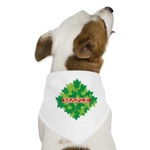 maple - Hunde-Bandana