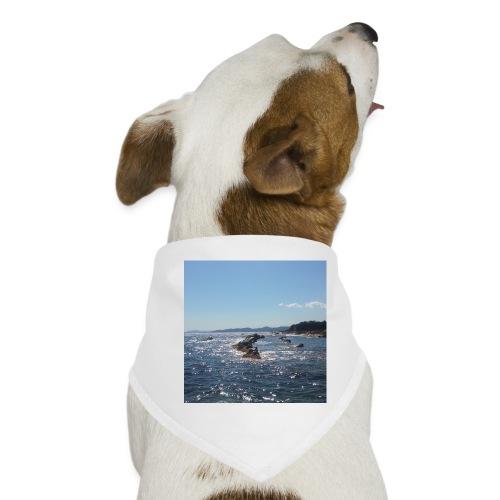 Mer avec roches - Bandana pour chien