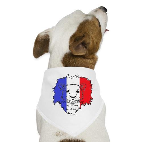 Lion supporter France - Bandana pour chien