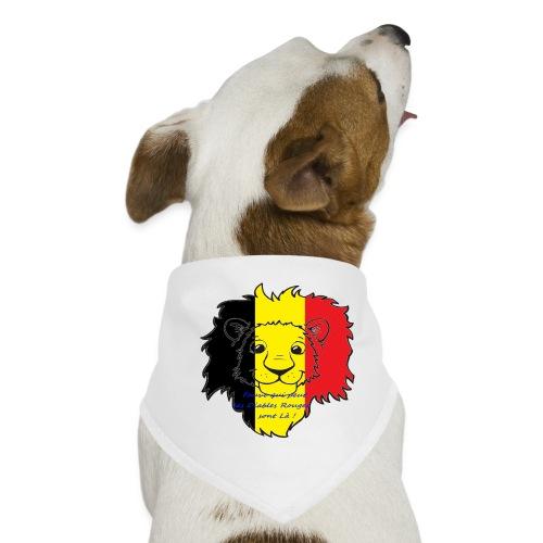 Lion supporter Belgique - Bandana pour chien