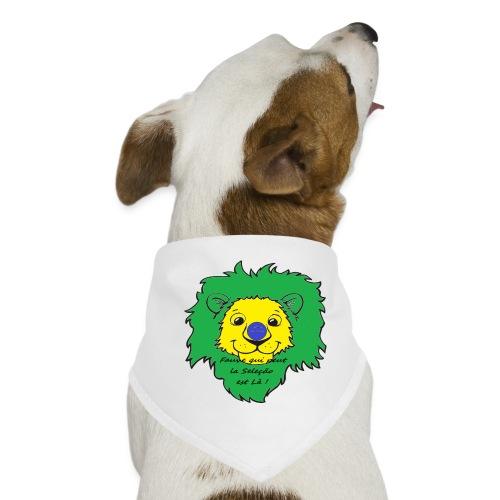 Lion supporter Brésil - Bandana pour chien