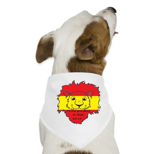 Lion supporter Espagne - Bandana pour chien