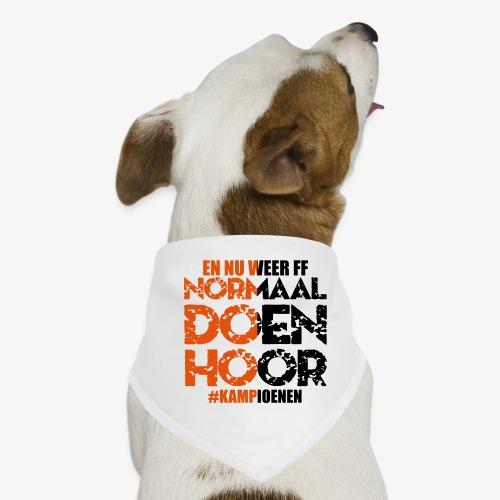 Normaal doen hoor - Honden-bandana