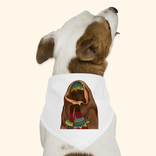 Femme bijou voile - Bandana pour chien