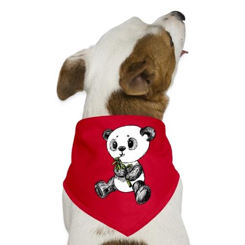 Panda Karhu värillinen scribblesirii - Koiran bandana