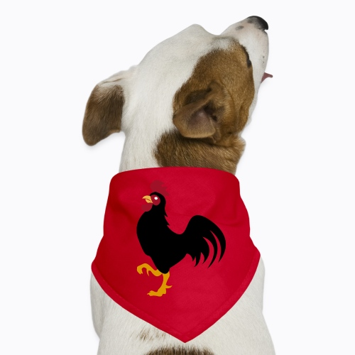 rooster cap - Dog Bandana