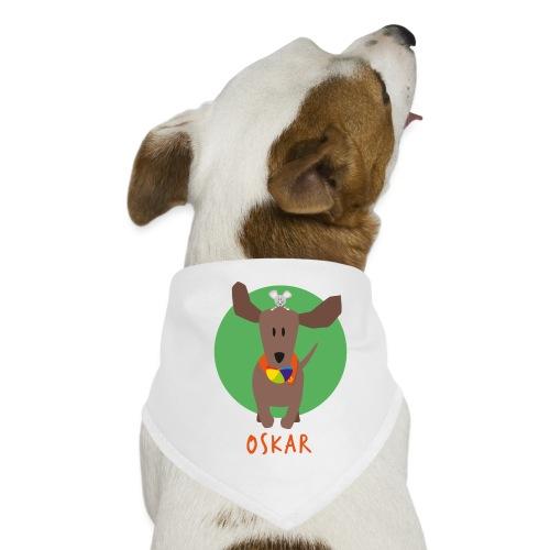 Dackel Oskar mit Maus Fridolin - Hunde-Bandana