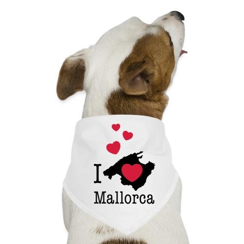 love Mallorca Balearen Spanien Ferieninsel Urlaub - Dog Bandana