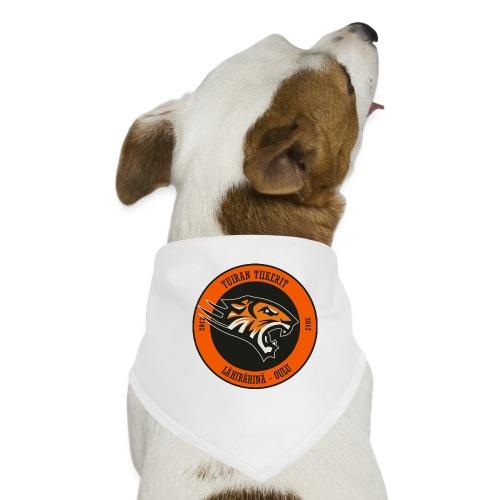 Tuiran Tiikerit, värikäs logo - Koiran bandana