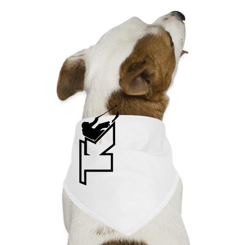 2017 TK Logo Noir sanstexte - Bandana pour chien