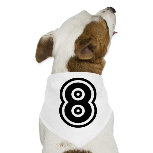 cool number 8 - Honden-bandana