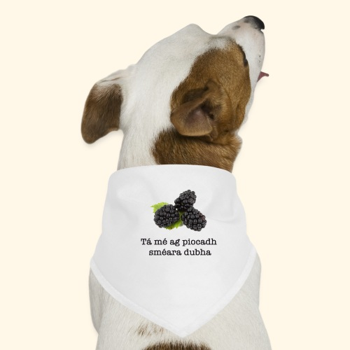 Picking blackberries - Dog Bandana