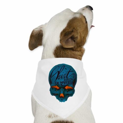 Dum Skull Orange glow - Honden-bandana