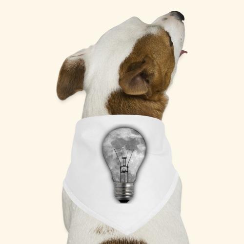 moon bulb - Pañuelo bandana para perro