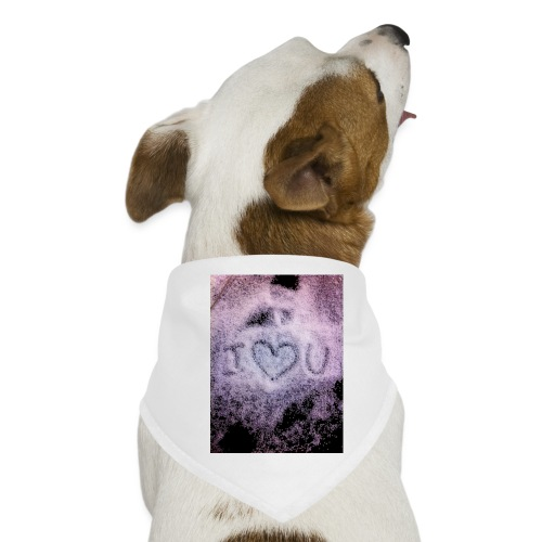 Ich liebe dich - Dog Bandana