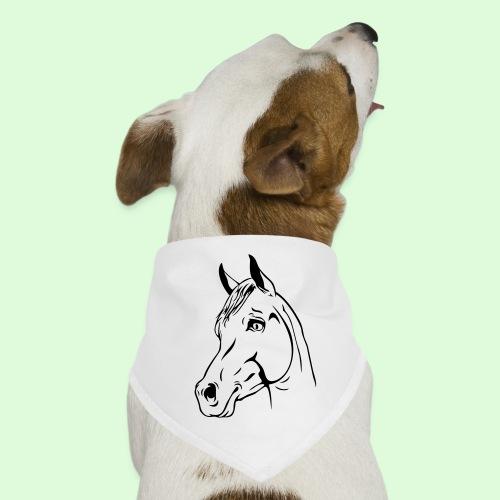 tête de cheval - Bandana pour chien