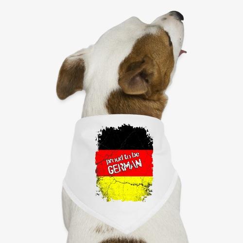 Proud to be german Stolzer Deutscher - Hunde-Bandana