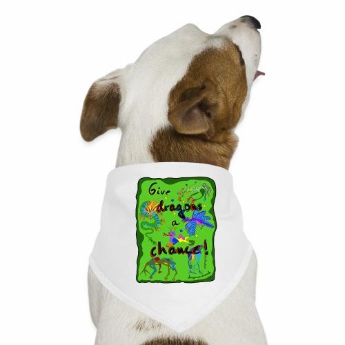 Donner une chance aux dragons - Bandana pour chien