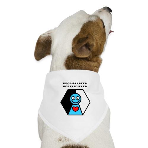Der begeisterte Brettspieler - Hunde-Bandana