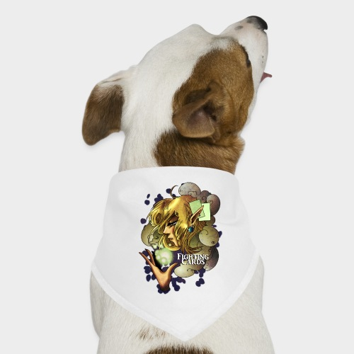Fighting cards - Soigneuse - Bandana pour chien