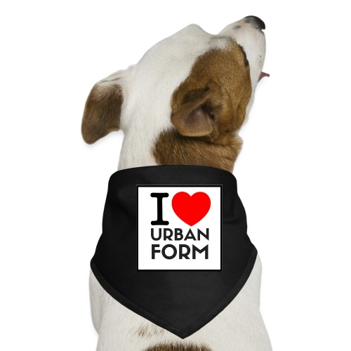I LOVE URBAN FORM - Bandana pour chien