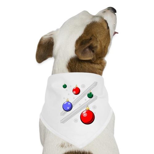 trekkerstballen wit - Honden-bandana
