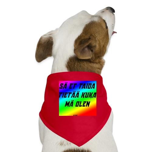 kuka olen - Koiran bandana