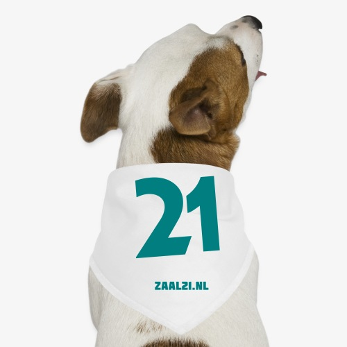 zaal-achterkant - Honden-bandana